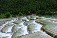 Долина или lanyuegu голубой луны Стоковое Фото