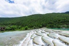 Долина или lanyuegu голубой луны Стоковые Фотографии RF