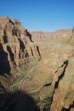 Долина каньона Стоковые Изображения