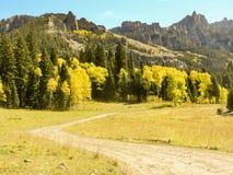 Долина Колорадо Cimarron Стоковая Фотография