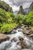 Долина Мауи Iao Стоковое Изображение RF