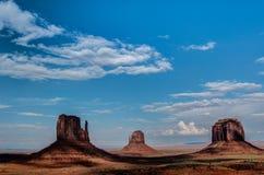 Долина памятника. Образование песчаника. Стоковое Фото