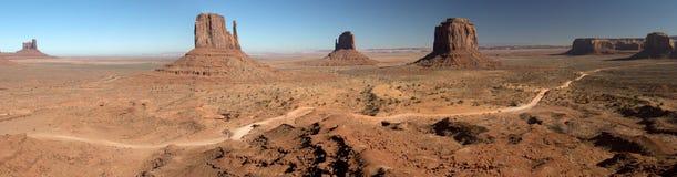 Долина памятника, парк Навахо племенной, США Стоковая Фотография RF