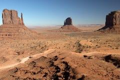 Долина памятника, парк Навахо племенной, США Стоковые Изображения