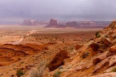 Долина памятника, парк долины памятника племенной Стоковое Фото