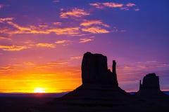 Долина памятника Стоковые Фотографии RF