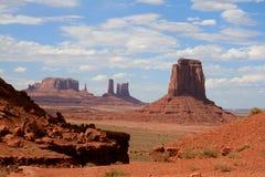 Долина памятника стоковая фотография