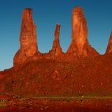 Долина памятника, w Стоковые Фотографии RF