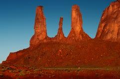 Долина памятника, w Стоковое фото RF