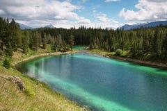 Долина панорамы 5 озер стоковое изображение rf