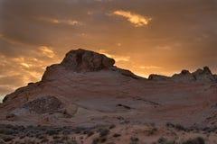 Долина парка штата Невады огня Стоковая Фотография RF