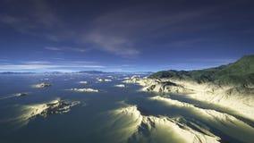 Долина 1 песчаника Стоковое Изображение