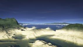 Долина 4 песчаника Иллюстрация вектора