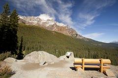 Долина 10 пиков banff Стоковые Фото