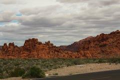 Долина серии 6 огня Стоковые Фотографии RF