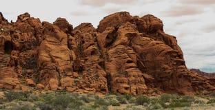 Долина серии 9 огня Стоковое фото RF