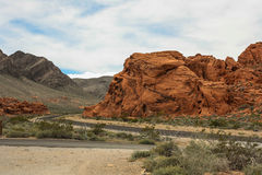 Долина серии 11 огня Стоковые Изображения RF