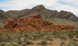Долина серии 12 огня Стоковая Фотография RF