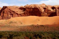 Долина Солнце памятника и тень Стоковые Фото