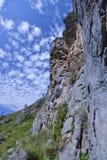 Долина ущелья горы духов горы Стоковое фото RF