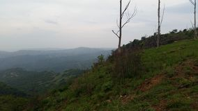 Долина 1000 холмов Стоковое фото RF