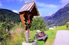 Долина южный Тироль Италия Racines стоковое фото