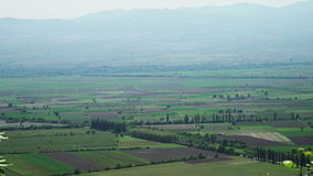 Долина Alazani, зона Kakheti, Georgia видеоматериал