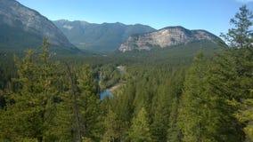 Долина banff смычка Стоковые Фото