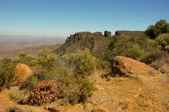 Долина Desolation в Camdeboo стоковая фотография