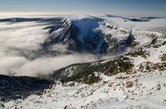 Долина dul Obri, гигантские горы, чехия Стоковое Фото