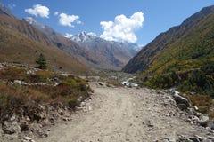 Долина Gangotri Стоковая Фотография RF