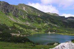 Долина Gasienicowa в горах Tatra Стоковое Фото