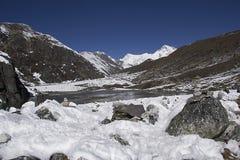 Долина Gokyo Стоковые Фотографии RF