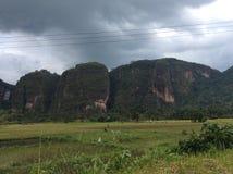 Долина Harau sumbar Стоковые Изображения RF