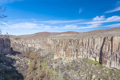 Долина Ihlara индюк Стоковое Фото