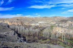Долина Ihlara индюк Стоковые Изображения