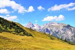 Долина Ladurns стоковое изображение rf