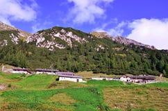 Долина Ladurns стоковые изображения rf
