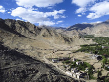 Долина Leh стоковые фотографии rf