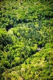 Долина Linville Стоковые Изображения RF