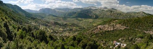Долина Oddoene, Сардиния, Италия Стоковые Фото