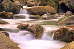 Долина Restonica, Корсика Стоковое Изображение