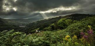 Долина Rhondda Стоковое Изображение