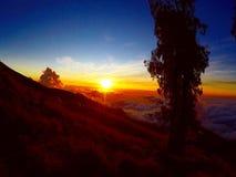 Долина Rinjani Стоковые Изображения RF