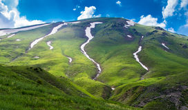 Долина Sary-Aigyr Стоковая Фотография