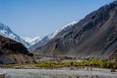 Долина Skardu, Пакистан Стоковые Фотографии RF