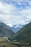 Долина Urubamba, Перу стоковая фотография rf