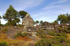 Долина VII encimadas Piedras Стоковое Изображение