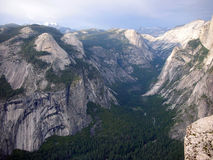 Долина Yosemite в Калифорнии Стоковое Фото