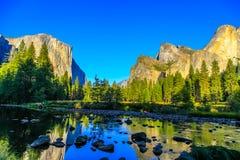 Долина Yosemite Стоковые Изображения RF